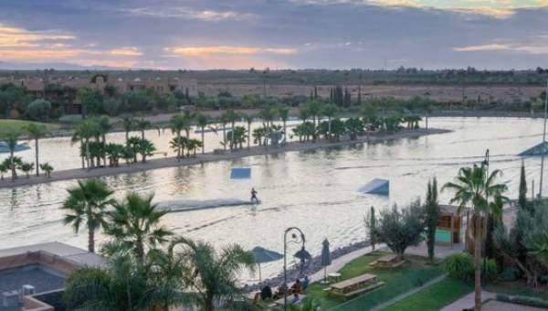 villa vente Contemporain Marrakech Extérieur Route Ourika