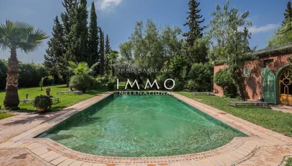 Villa à vendre Marocain Marrakech Extérieur Route Fes