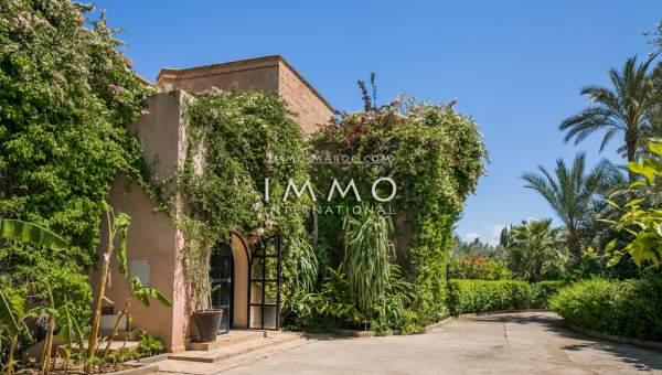 Maison à vendre agence immobiliere de luxe marrakech Marrakech Extérieur Route Amizmiz