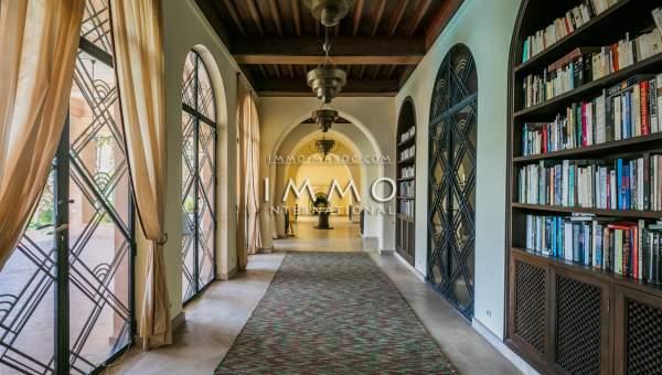 villa vente de prestige Marrakech Extérieur Route Amizmiz