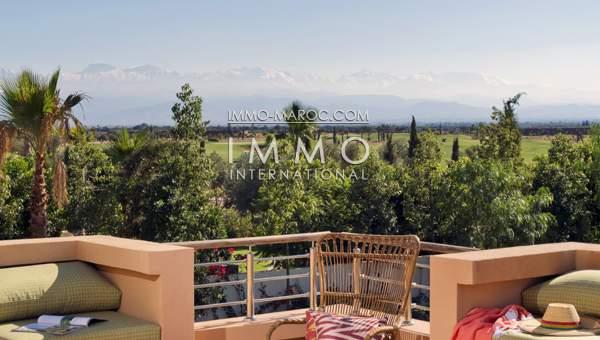 Vente villa Contemporain luxe Marrakech Golfs Al Maaden