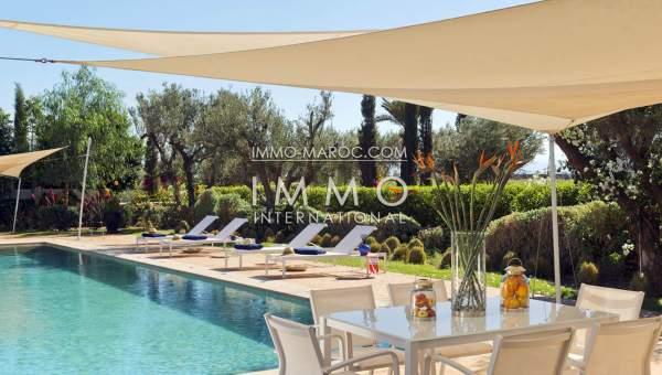 Vente villa Moderne haut de gamme Marrakech Golfs Al Maaden