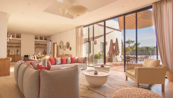 Villa à vendre Marocain épuré Marrakech Extérieur Route Fes