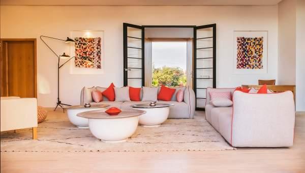 villa vente Marocain épuré Marrakech Extérieur Route Fes