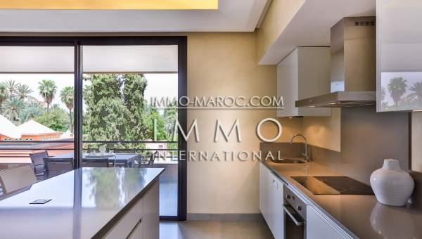 Vente appartement Contemporain Marrakech moins de 10 minutes de la place