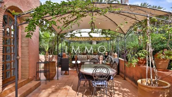 acheter appartement Marocain Marrakech Palmeraie Circuit Palmeraie