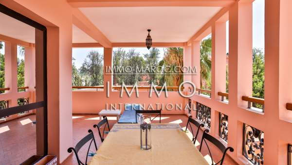 Appartement à vendre Marocain épuré Marrakech Hivernage