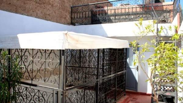 Vente petit riad traditionnel Marrakech Place Jamaa El Fna