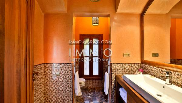 propriété de luxe palmeraie Marrakech
