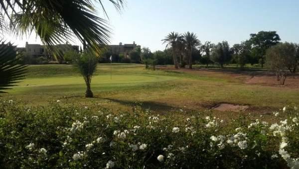 Vente villa Marocain épuré Marrakech Amelkis Extérieur Route Ouarzazate