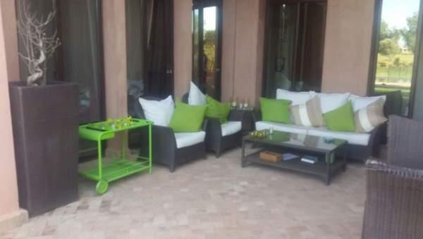 Vente maison Marocain épuré Marrakech Amelkis Extérieur Route Ouarzazate
