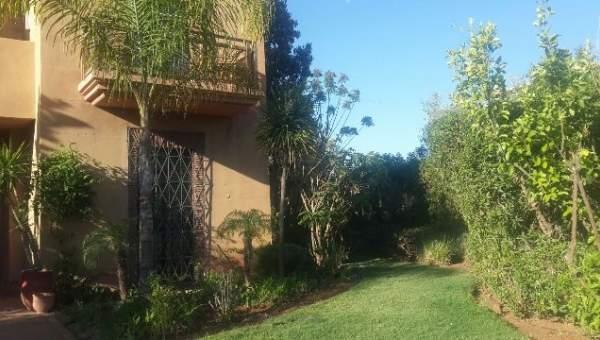 Achat villa Marocain épuré Marrakech Amelkis Extérieur Route Ouarzazate