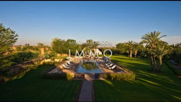 acheter maison Marocain Marrakech Palmeraie Bab Atlas
