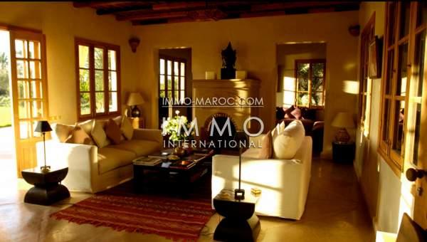 Villa à vendre Marocain haut de gamme Marrakech Palmeraie Bab Atlas