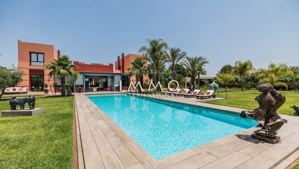 villa achat Moderne luxe Marrakech Extérieur Route Ourika