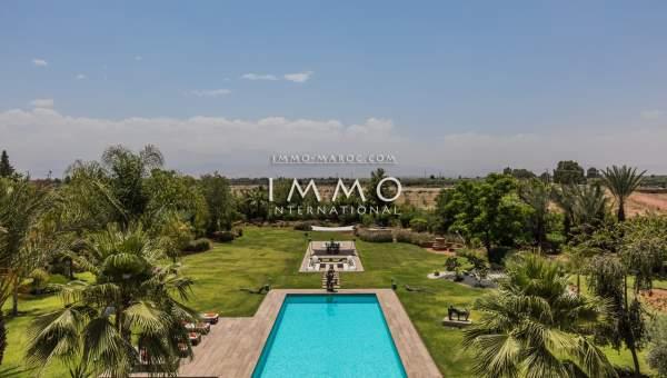 acheter maison Contemporain biens de prestige Marrakech Extérieur Route Ourika