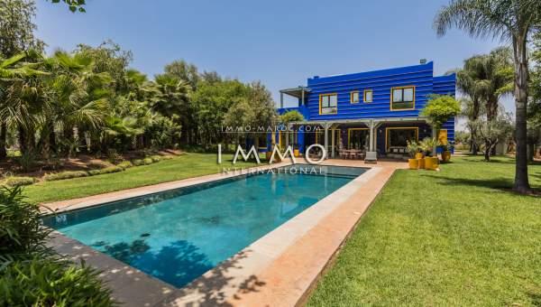 acheter maison Moderne luxueuses Marrakech Extérieur Route Ourika