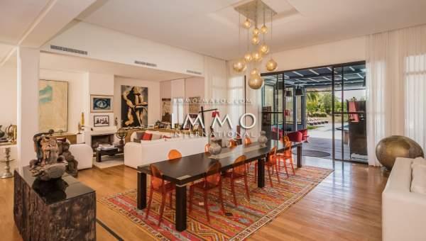 Villa à vendre Moderne prestige Marrakech Extérieur Route Ourika