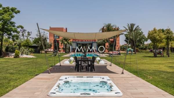 villa achat Moderne luxueuses Marrakech Extérieur Route Ourika