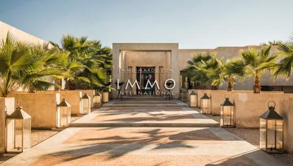 Vente villa Moderne haut de gamme Marrakech Extérieur Route Ouarzazate