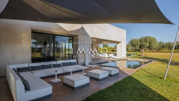 villa vente Moderne biens de prestige Marrakech Extérieur Route Ouarzazate
