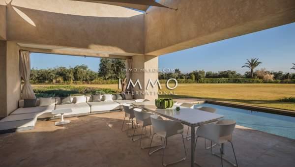 Maison à vendre Contemporain luxe Marrakech Extérieur Route Ouarzazate
