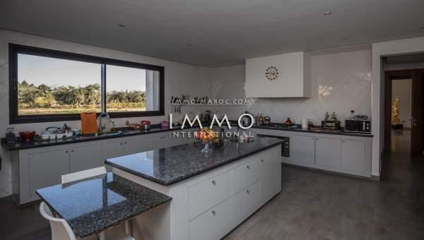 Villa à vendre Contemporain propriete luxe marrakech à vendre Marrakech Extérieur Route Ouarzazate