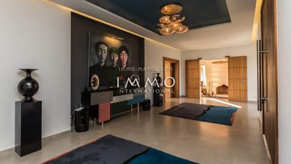 Achat villa Contemporain luxe Marrakech Extérieur Route Ouarzazate