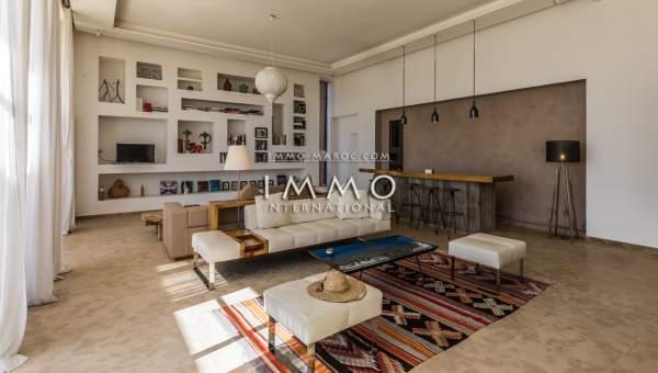 Maison à vendre Moderne de prestige Marrakech Extérieur Route Amizmiz