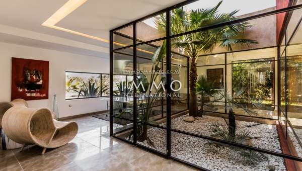 villa achat Moderne immobilier de luxe marrakech Marrakech Extérieur Route Amizmiz