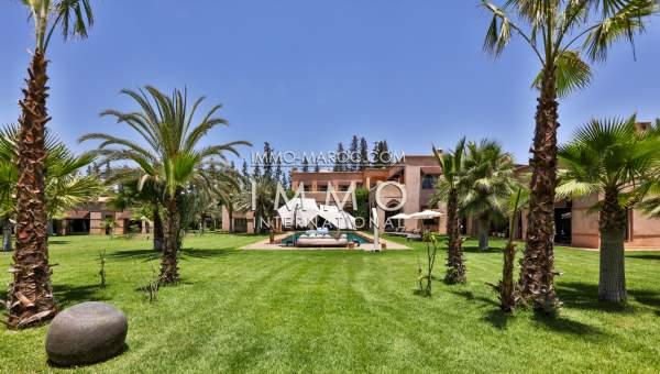 Villa à vendre Marocain luxueuses Marrakech Palmeraie