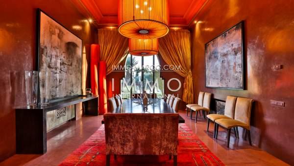 acheter maison Marocain épuré immobilier de luxe marrakech Marrakech Palmeraie Circuit Palmeraie