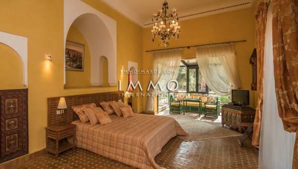 Vente maison Marocain luxueuses Marrakech Palmeraie Circuit Palmeraie