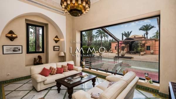 acheter maison Marocain Marrakech Palmeraie Circuit Palmeraie