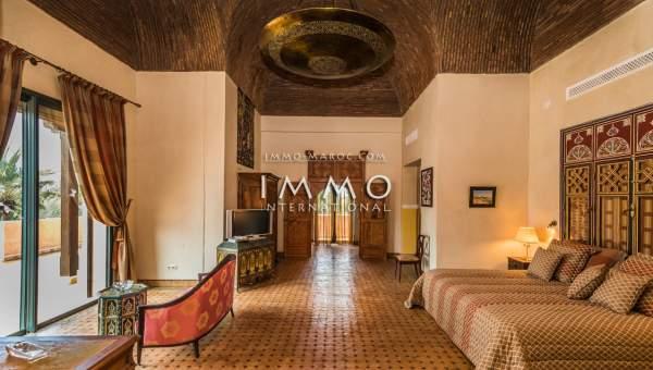 Villa à vendre Marocain prestige a vendre Marrakech Palmeraie Circuit Palmeraie