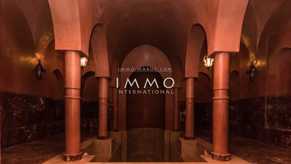 villa achat Marocain luxueuses Marrakech Palmeraie Circuit Palmeraie