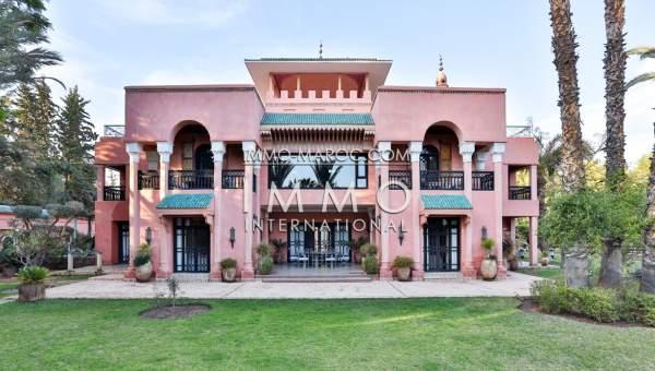 Maison à vendre Marocain immobilier luxe à vendre marrakech Marrakech Palmeraie Palmariva – Dar tounsi