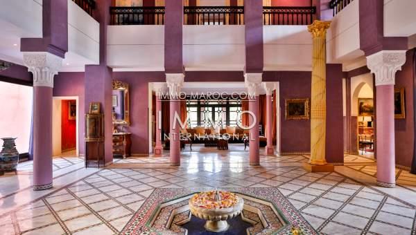Villa à vendre Marocain prestige a vendre Marrakech Palmeraie Palmariva – Dar tounsi