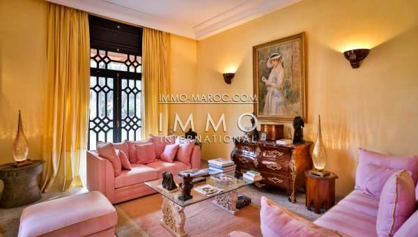 Achat villa Marocain de prestige Marrakech Palmeraie Palmariva – Dar tounsi