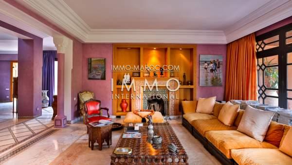 Achat villa Marocain propriete luxe marrakech à vendre Marrakech Palmeraie Palmariva – Dar tounsi