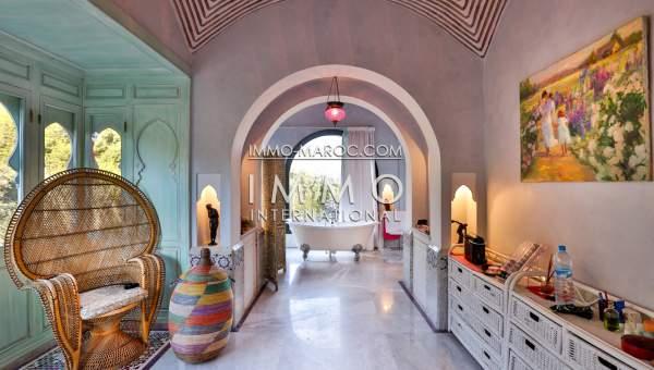 Villa à vendre Marocain Prestige Marrakech Palmeraie Palmariva – Dar tounsi