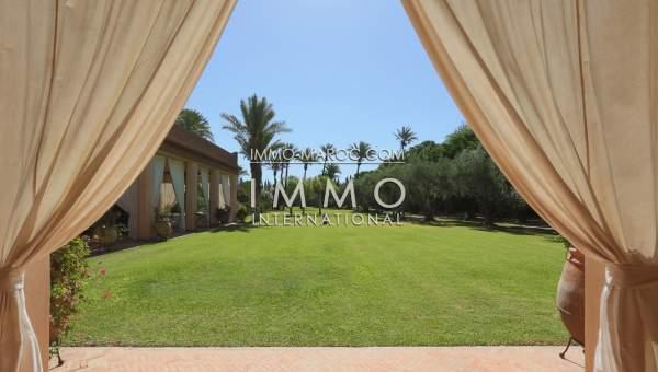 Vente maison Marocain haut de gamme Marrakech Palmeraie