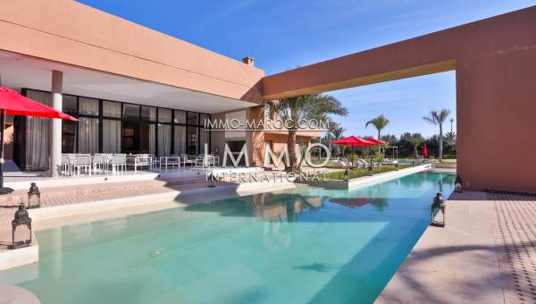 Villa à vendre Contemporain prestige Marrakech Palmeraie Palmariva – Dar tounsi