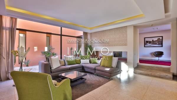 Achat villa Contemporain Marrakech Palmeraie Palmariva – Dar tounsi