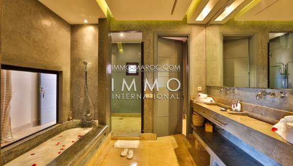 Vente villa Moderne Prestige Marrakech Palmeraie Palmariva – Dar tounsi