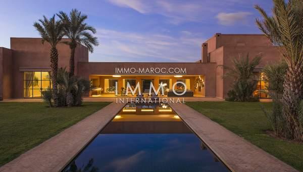 Villa à vendre Contemporain prestige Marrakech Extérieur Route Fes