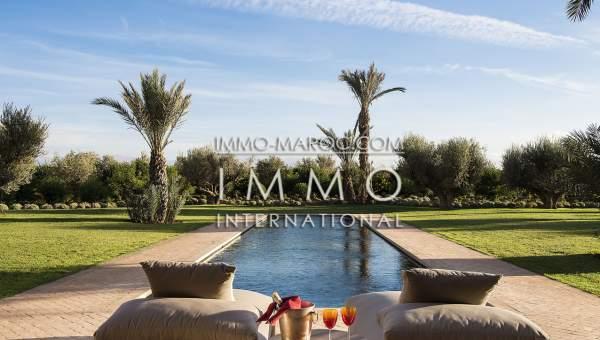 acheter maison Contemporain luxe Marrakech Extérieur Route Fes
