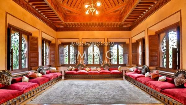 Achat villa Marocain Marrakech