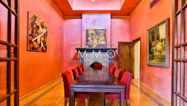 Vente villa Marocain Marrakech