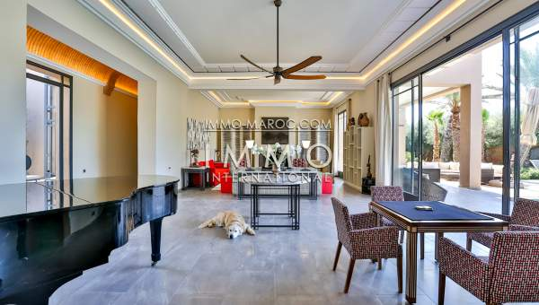 Vente villa Contemporain Marrakech
